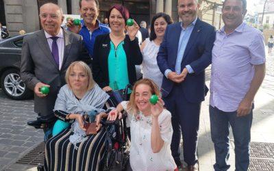 La ONCE premia a la Fundación para el Transporte Adaptado de Gran Canaria